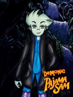 Demonic Pajama Sam by MoonyDash