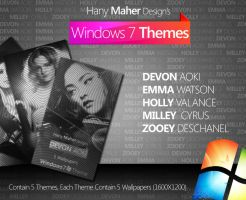 Windows 7 Themes Pack 1 by Domino333