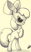 Applebloom cleaned up by jump-cut