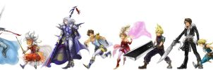 Dissidia Final Fantasy by f-wd