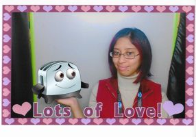 Me and Toaster in JIPP wedding photo by Magic-Kristina-KW