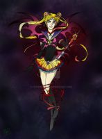 Dark Sailor Moon by hypernosis