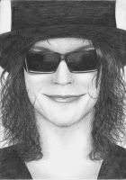 Ville in sunglasses by Karoleenka