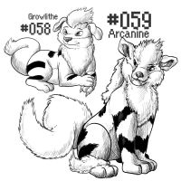 PKMN-A-DAY: Dogs by the-b3ing