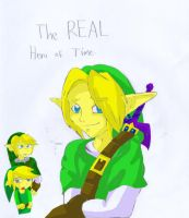 the REAL hero of time color by Keirii-of-Celts