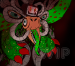 Omega Flowey _COLORED WIP_ by MCRetroX