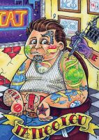 Garbage Pail Kids Show by nakedDerby