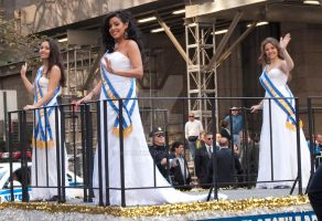 NYC - Columbus Day Parade - Beauty Pageant Winners by mcbarker