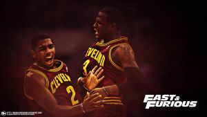 Cleveland Cavaliers Fast and Furious by michaelherradura
