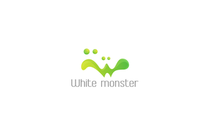 The White Monster Logo by RaymondGD