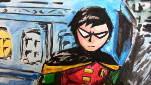 Robin detail by ma6