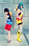 One Piece - Luffy and Lily Enstomach Cosplay by Murdoc-lein
