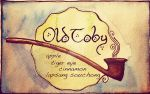 Old Toby Tea label by aunjuli