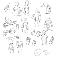 Anatomy practise sorta by hopeless-fate