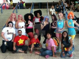 Steven Universe Photoshoot cosplay group Metrocon by peacekid4