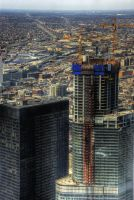 BFF: Trump Tower and IBM Bldg by spudart