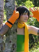 Yuffie - Over there by SoraPilzi