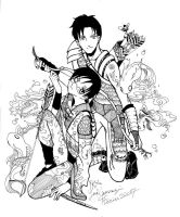 Smoke begets water XXXHolic by ykx