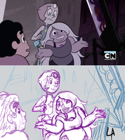 SU screencap redraw WIP by Sixala
