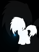 Vinyl Scratch Silhouette by flamevulture17