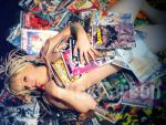 ComicBooks by PinkCarbon
