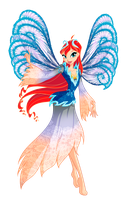 Winx Club Bloom Tiefix by Forgotten-By-Gods