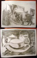 Drawing1 Class.  Fuzzy Slides 1 and 2 by flufdrax