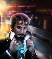 Tony Stark by VoydKessler