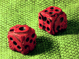 Oogie Boogie Dice by JMKohrs