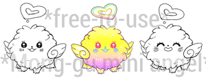 Free-to-use: Base of Mong-Gu mini angel by picsim
