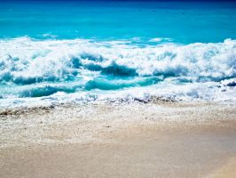 Summer Blue Wave by samnouvelle