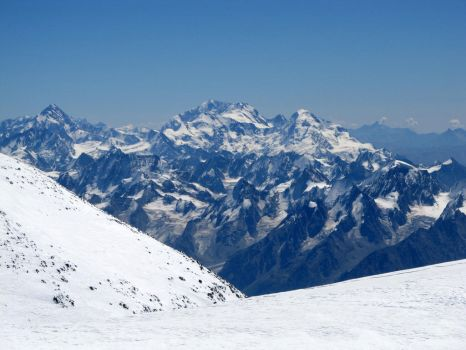 View from Elbrus by Ribtoks