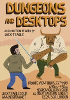 Dungeons + Desktops Exhibition by Teagle