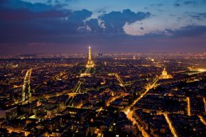 Paris from Montparnasse by gregpuck