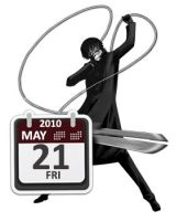 Darker than black calendar by S4Pabl0