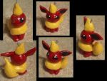 Flareon Charm by technoplasma