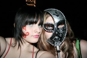 living behind a mask. by zombiexGLAMOUR