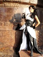 Steampunk fashion-1 by xKats