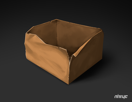 An Empty Box (FB Upload) by nirryc