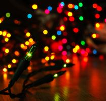 christmas lights. by NurNurIch