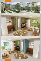35 m2 house design by lliisscchhaa