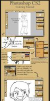 Tutorial -Coloring Pics in PS- by fanchielover15