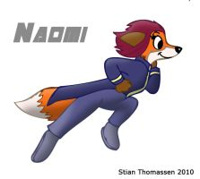 Naomi Running by rodrev