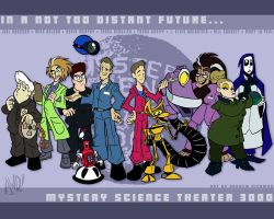 The MST3K Animated Wallpaper by AndrewDickman