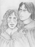 ASOIAF Couples - Jon and Ygritte by Annathelle26