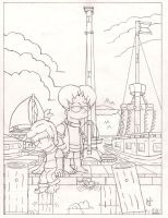 2000: Feleica and Eric. by simpspin