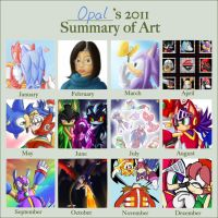 2011 Summary of Art by Azuroru