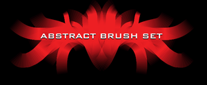 oOo ABSTRACT BRUSH SET oOo by HumanNature84