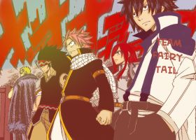 Fairy Tail Chapter 292 Team Fairy Tail by fullmetaljuzz