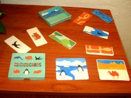 Picture Matching Cards Canon Papercraft Children by ValhallaAsgard